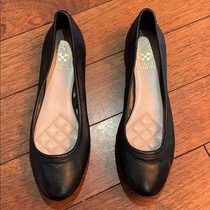 Black Vince Camuto size 7 1/2 ballet flat.
